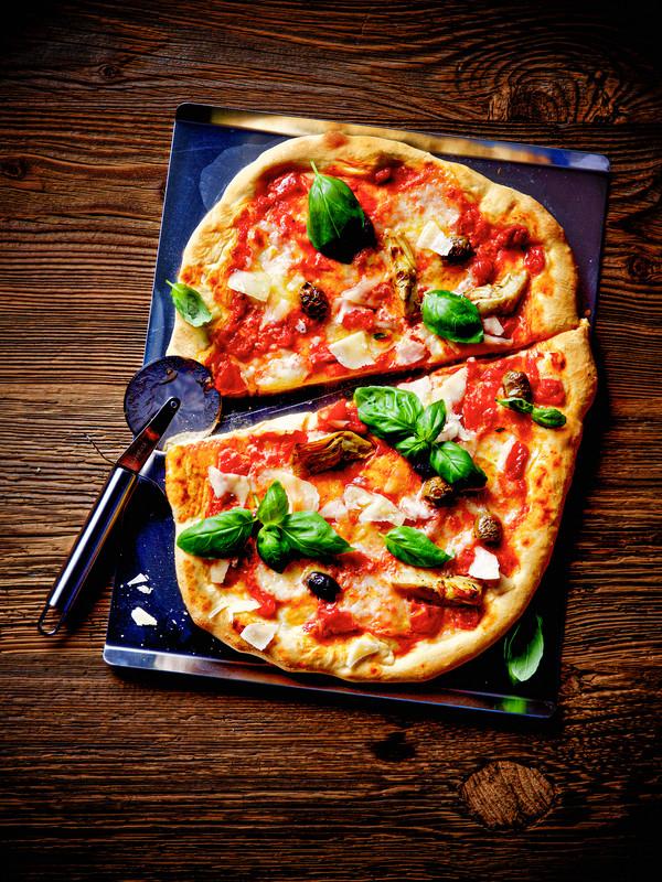 Dehner Pizzastein, 38 x 30 cm