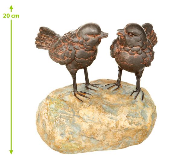 Dehner Poly-Figur Vogelpaar