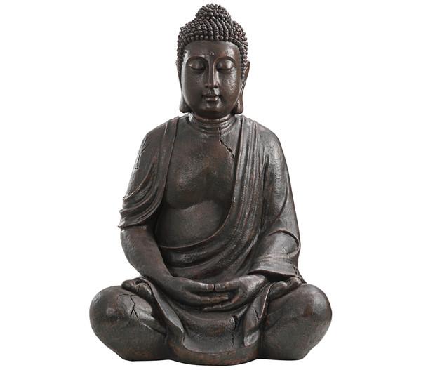 Dehner Polyresin-Buddha, 70 x 51 x 100,5 cm