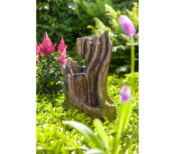 Dehner Polyresin-Gartenbrunnen Foresta, 29 x 37 x 66 cm