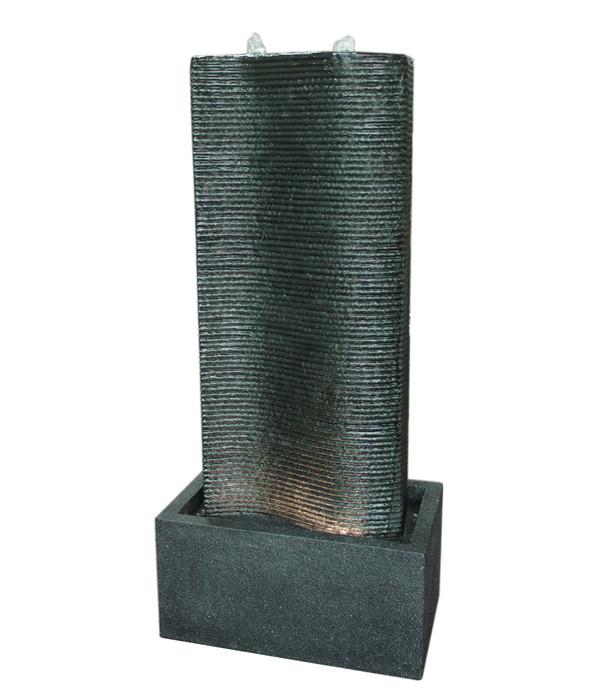Dehner Polyresin-Gartenbrunnen Muro, ca. B37/H80,5/T22,5 cm