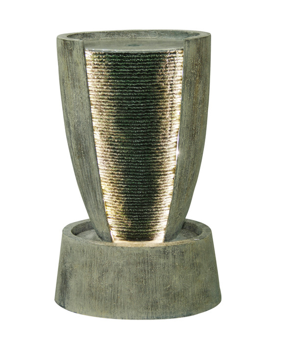 Dehner Polyresin-Gartenbrunnen Tambor, ca. B41/H67,5/T29 cm