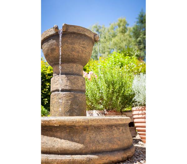 Dehner Polyresin-Gartenbrunnen Verona, Ø 78 x 75 cm