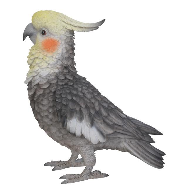 Dehner Polyresin-Kakadu, stehend