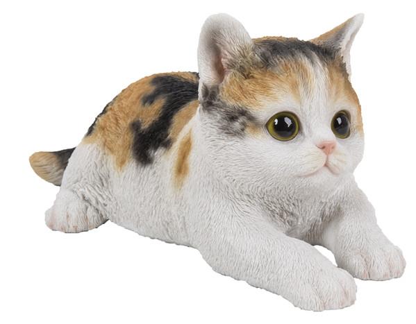 Dehner Polyresin-Kätzchen, liegend