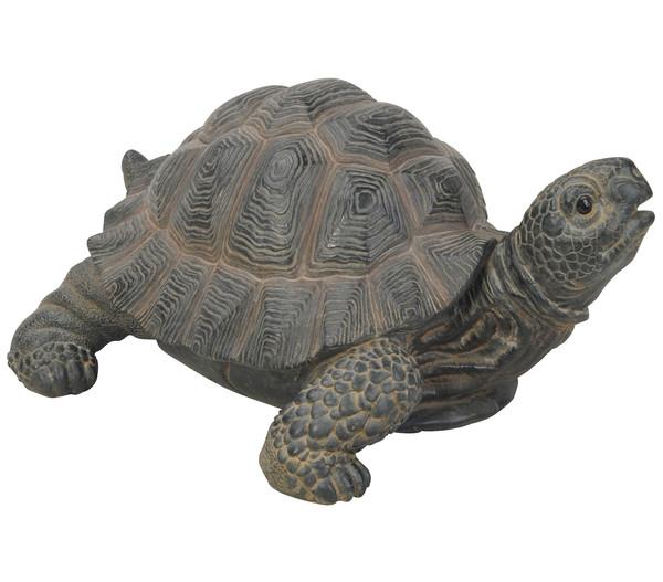 Dehner Polyresin-Schildkröte, 17,7 x 23,5 x 11,2 cm