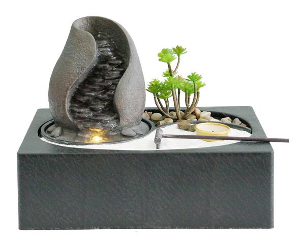 Dehner Polyresin-Zimmerbrunnen 'Landskap'