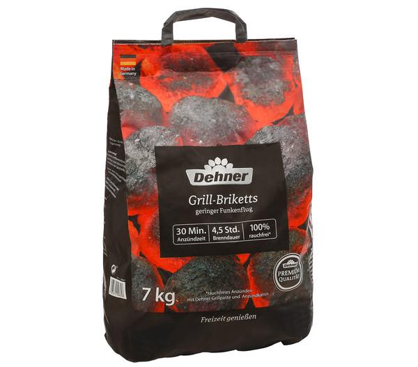 Dehner Premium Grillbriketts, 7 kg