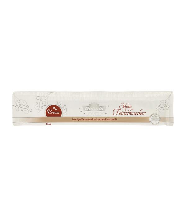 Dehner Premium Lovely Katzensnack Cream Mein Feinschmecker