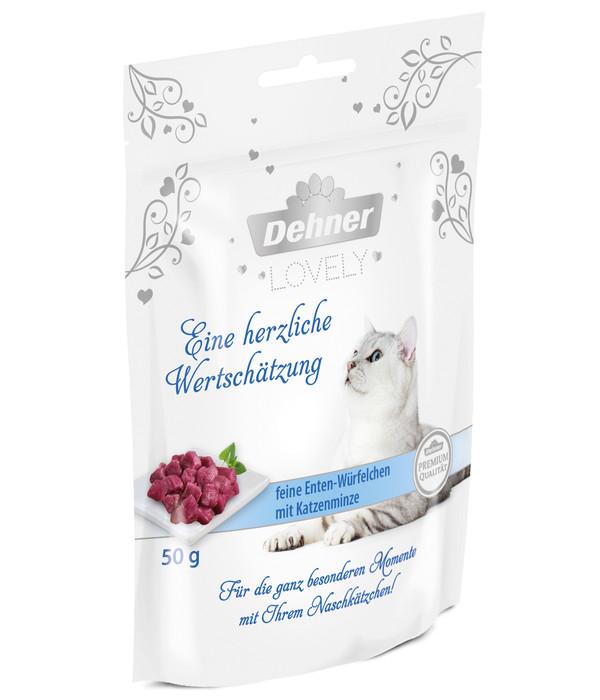 Dehner Premium Lovely Katzensnack Eine herzliche Wertschätzung, 50 g
