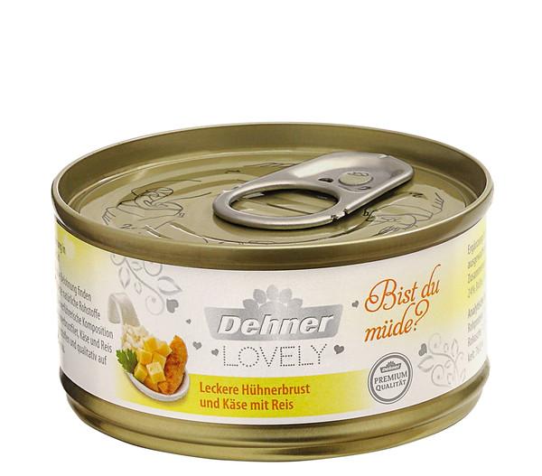 Dehner Premium Lovely Nassfutter Bist du müde?