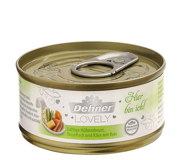 Dehner Premium Lovely Nassfutter Hier bin ich!