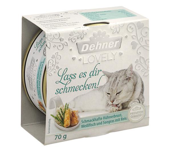 Dehner Premium Lovely Nassfutter Lass es dir schmecken!