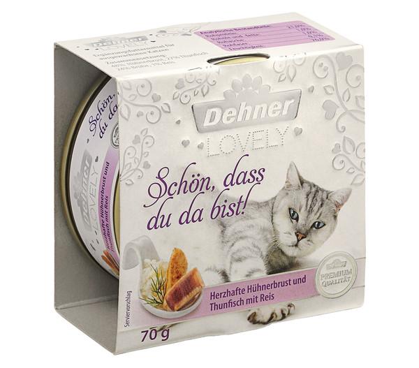 Dehner Premium Lovely Nassfutter Schön, dass du da bist!