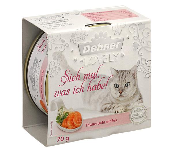 Dehner Premium Lovely Nassfutter Sieh mal, was ich habe!