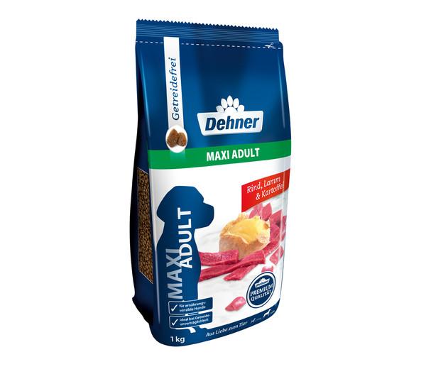 Dehner Premium Maxi Adult, Rind, Trockenfutter