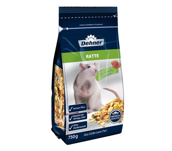 Dehner Premium Rattenfutter, 750g