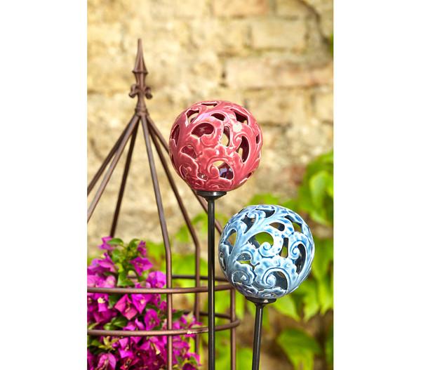 Dehner premium solar dekostab mit keramikkugel dehner for Dekostab garten