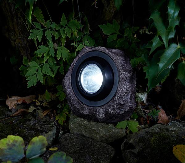 Dehner Premium Solar-Granitstein 'Pedra'
