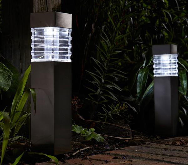 Dehner Premium Solar-Pfahlleuchte 'Porto'