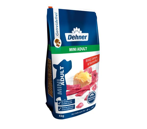 Dehner Premium Trockenfutter Mini Adult, Rind