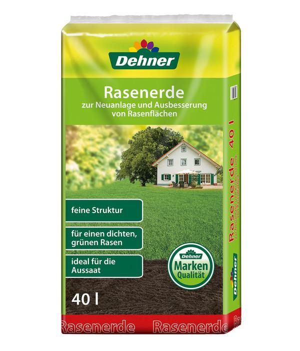 Dehner Rasenerde, 45 x 40 Liter