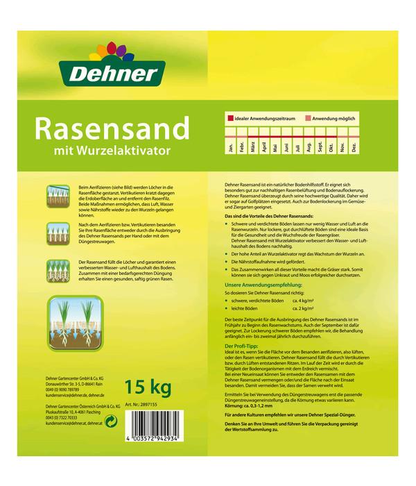 Dehner Rasensand, 15 kg