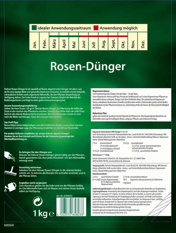 Dehner Rosen-Dünger