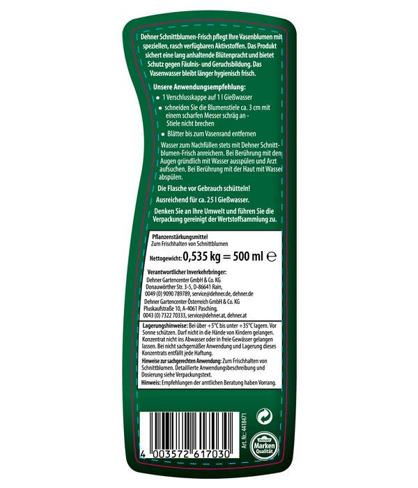 Dehner Schnittblumen-Frisch, flüssig, 500 ml