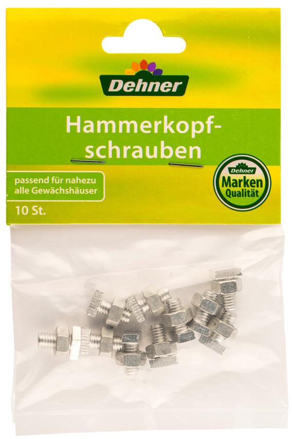 Dehner Schrauben- und Mutternsatz, Hammerkopf