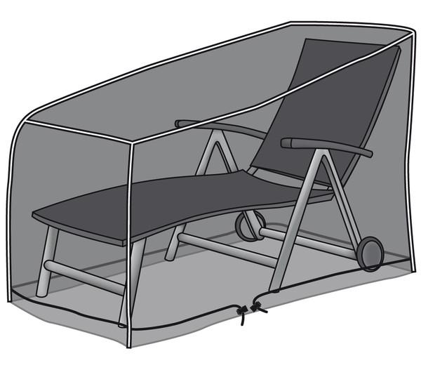 Dehner Schutzhülle Deluxe für Liegen, 200 x 75 x 45 cm