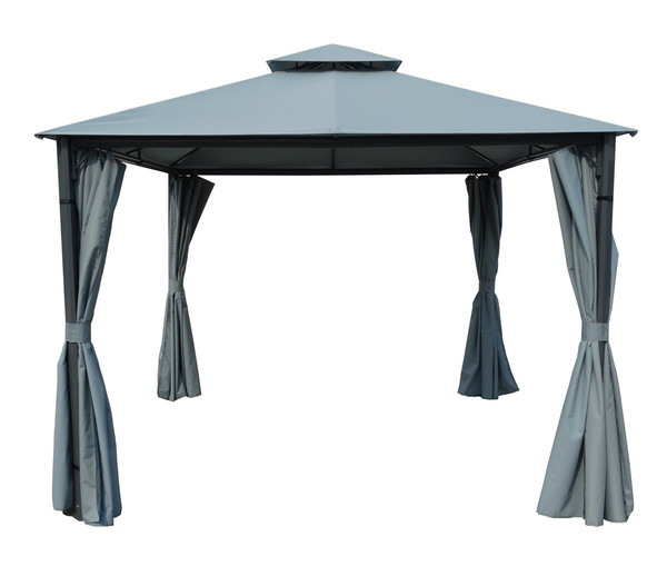 dehner seitenteile f r pavillon dubai 3 x 3 m dehner. Black Bedroom Furniture Sets. Home Design Ideas