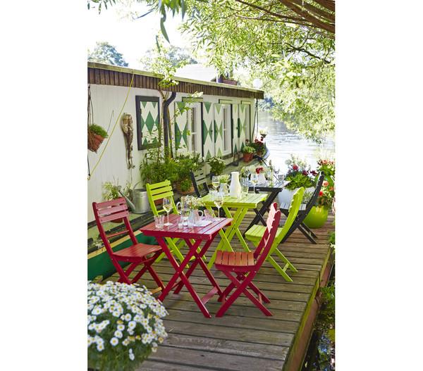 Dehner Serviertablett Provence, 40 x 60 x 72,5 cm