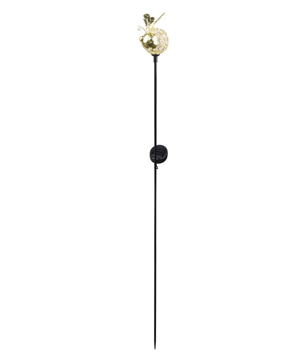 Dehner Solar-Dekostab Biene. ca. H120 cm, gold