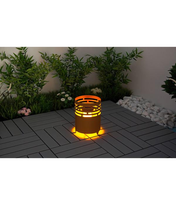 Dehner Solar-Feuerkorb 'Fevira'