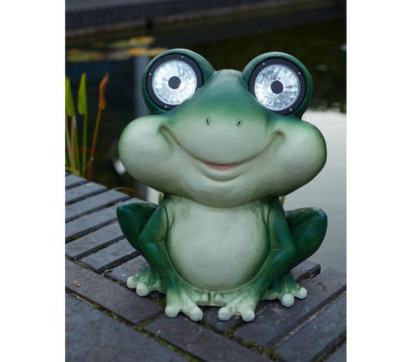 Dehner Solar-Frosch 'Fridolin'