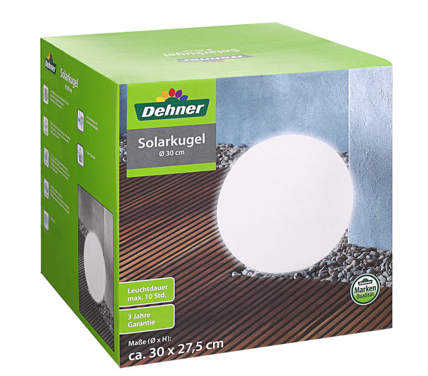 Dehner Solarkugel 30 Cm Dehner