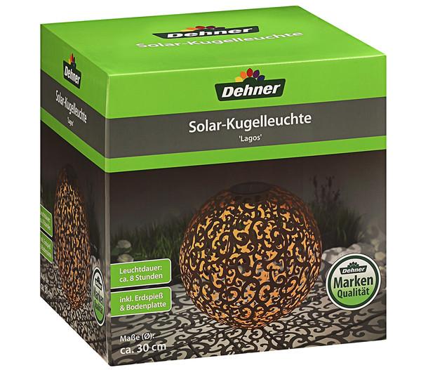 Dehner Solar-Kugelleuchte 'Lagos'