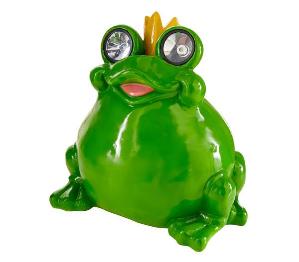 Dehner Solarleuchte 'Frosch Leander'