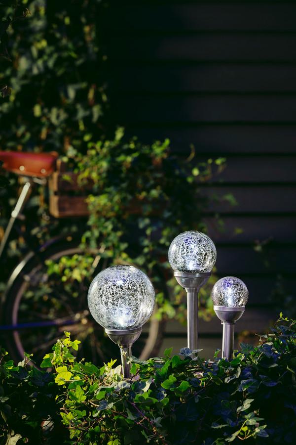 Dehner Solarleuchte Glaskugel