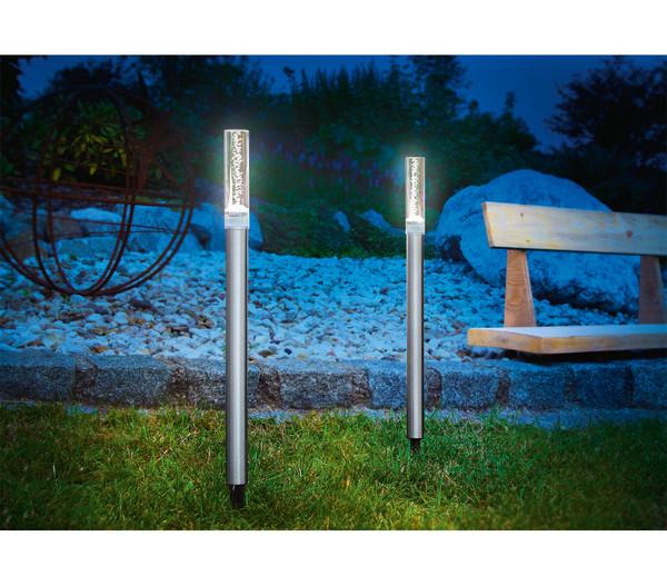 Dehner Solarleuchten Set Twin, 12 Stück
