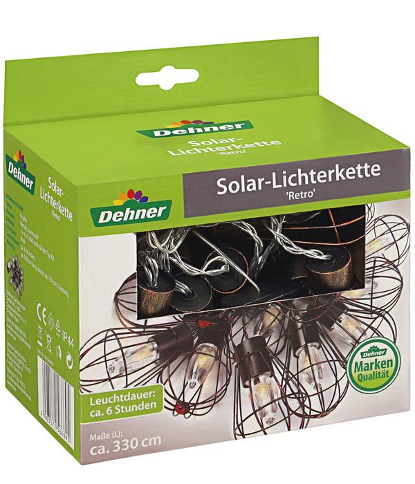 Dehner Solar-Lichterkette 'Retro'
