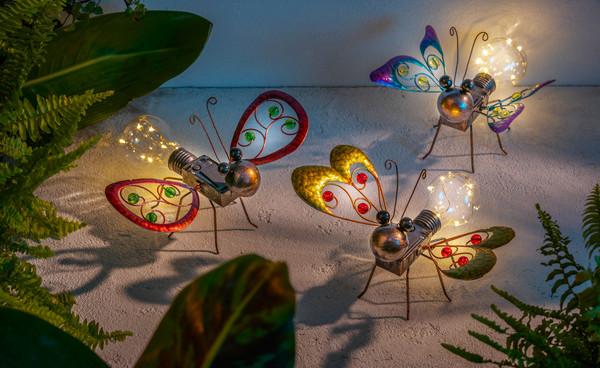 Dehner Solar-Schmetterling