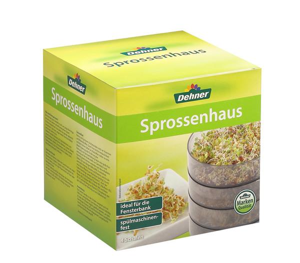 Dehner Sprossenhaus, 4 Schalen