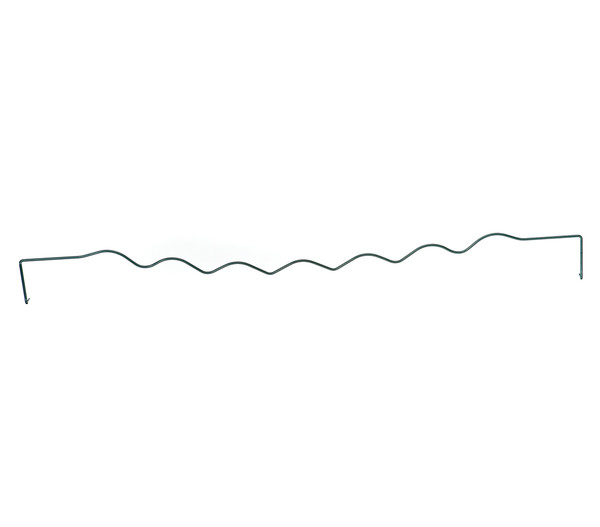 Dehner Stahl-Rabattenrand, Wellenform, grün, 100 cm