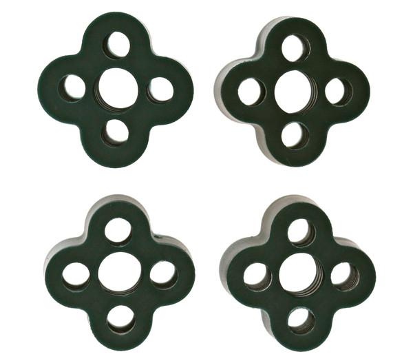Dehner Standard Kupplung, 4 Stk., grün