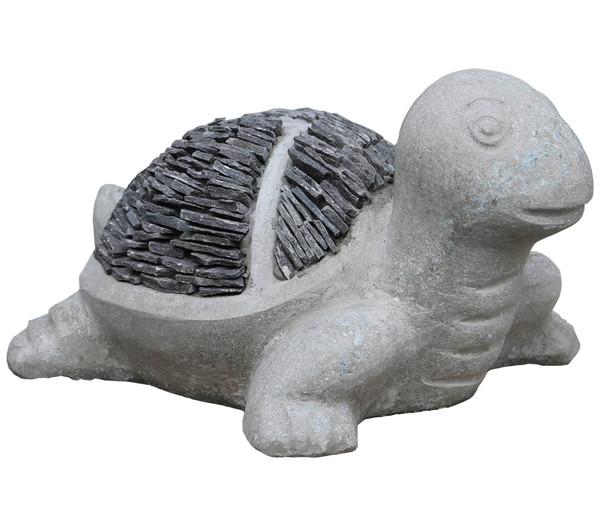 Dehner Stein-Schildkröte, 27 x 33 x 14 cm
