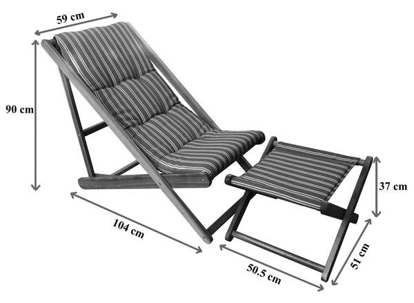 Dehner Strandstuhl 'Macao'