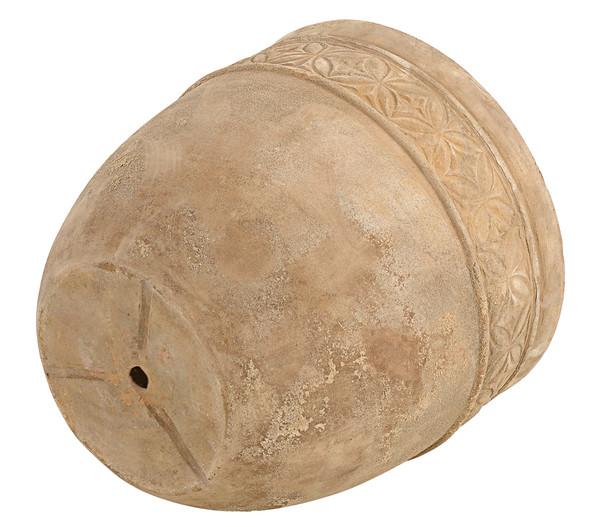 Dehner Terrakotta-Topf Antic, rund
