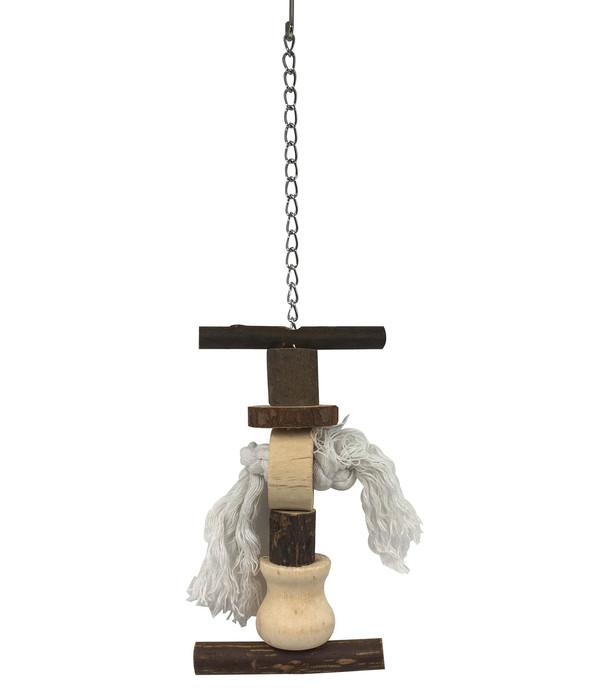 Dehner Vogel-Holzspielzeug Pelly